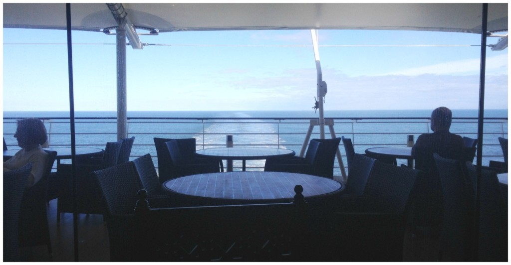 The view from the back of the MSC Magnifica buffet restaurant