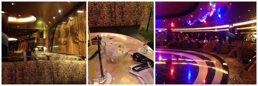 Tiger Bar on MSC Magnifica