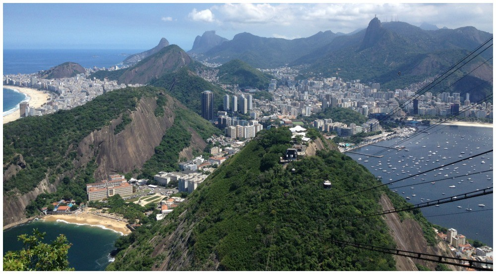 View of Rio from Sugarloaf Brazil 2015