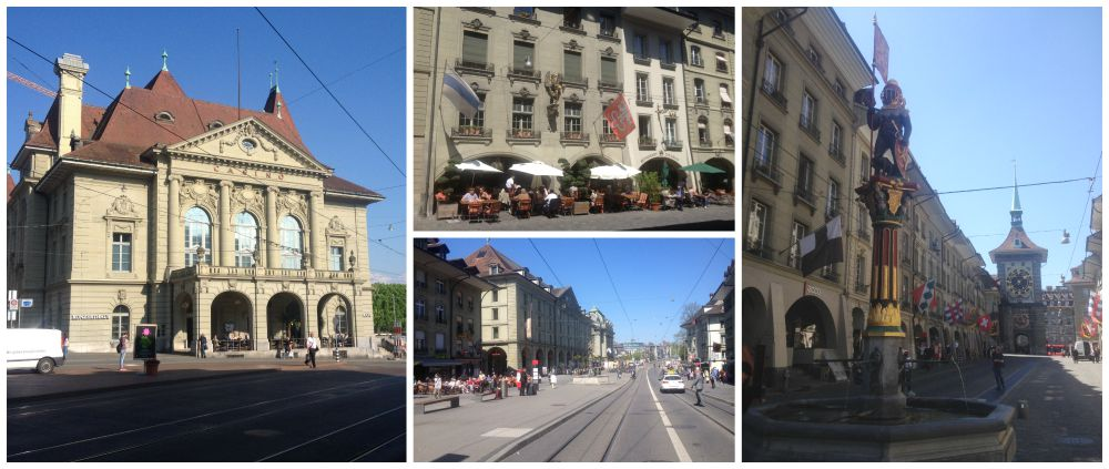 World heritage listed City of Bern in Switzerland