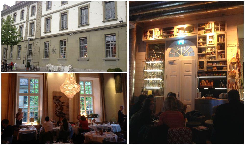 toi & moi restaurant in Bern