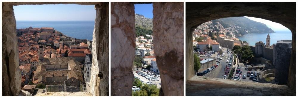 Archway views of Dubrovnik 2015