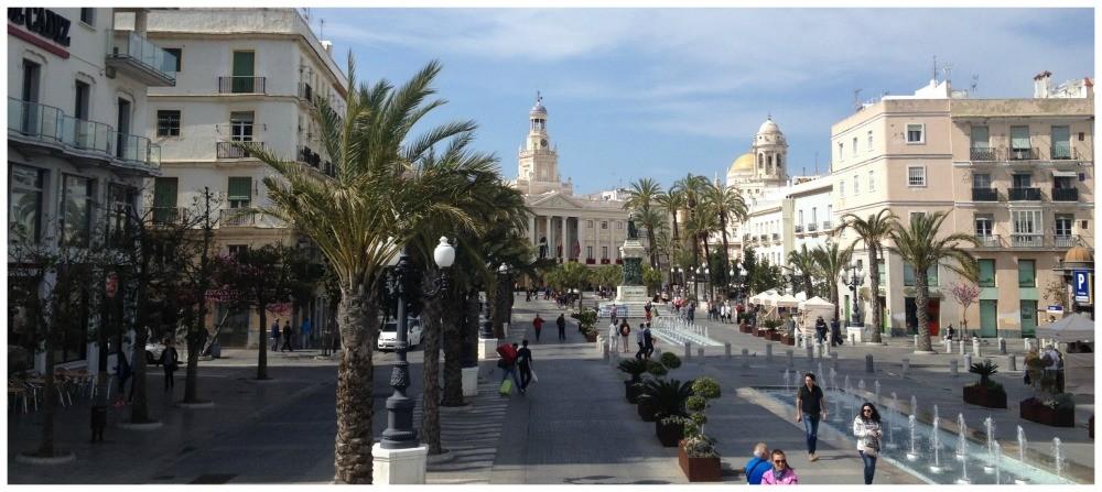 Plaza San Juan de Dios Cadiz, Spain