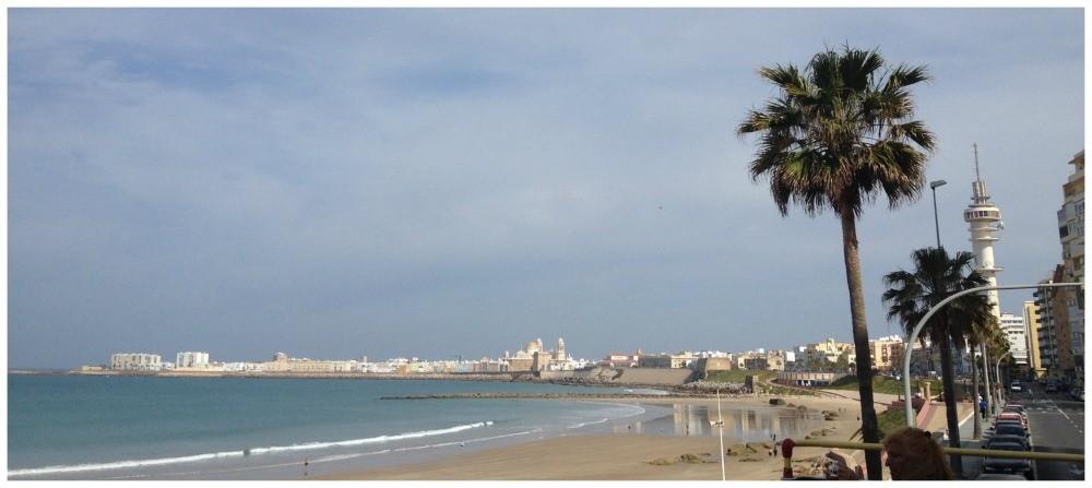 Cadiz beachfront, Spain