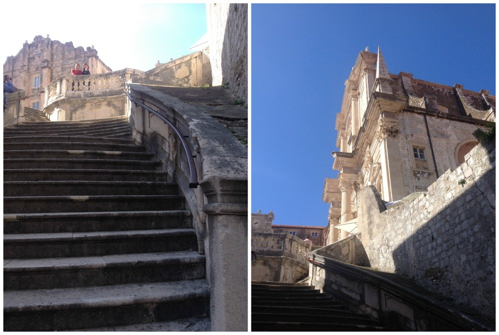 St Ignatius Church in the Old City of Dubrovnik 2015