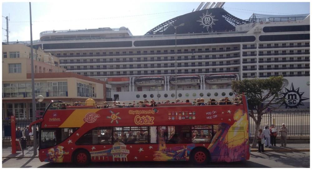 City Sightseeing Cadiz bus tour