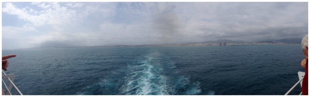 Departing Malaga 2015