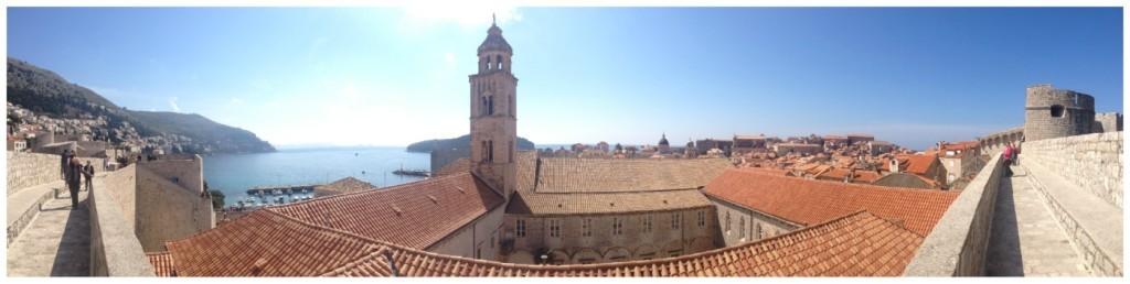 Dubrovnik Old City panorama 2015