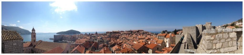 Dubrovnik panorama 2015