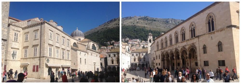 Gundulic's Square in Dubrovnik Old City 2015