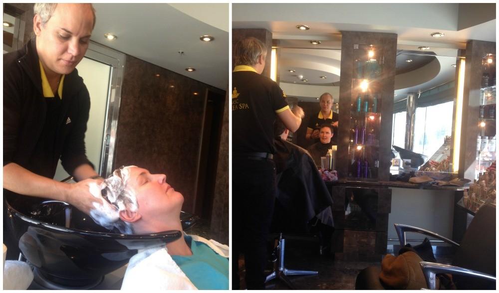 Hair salon on MSC Magnifica 2015
