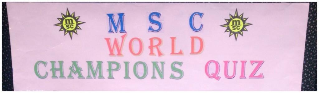 MSC World Champions Quiz