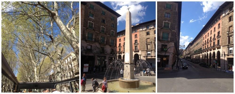 Majorca bus tour images