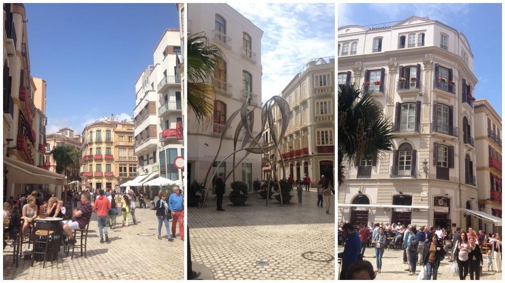 Malaga buildings 2015