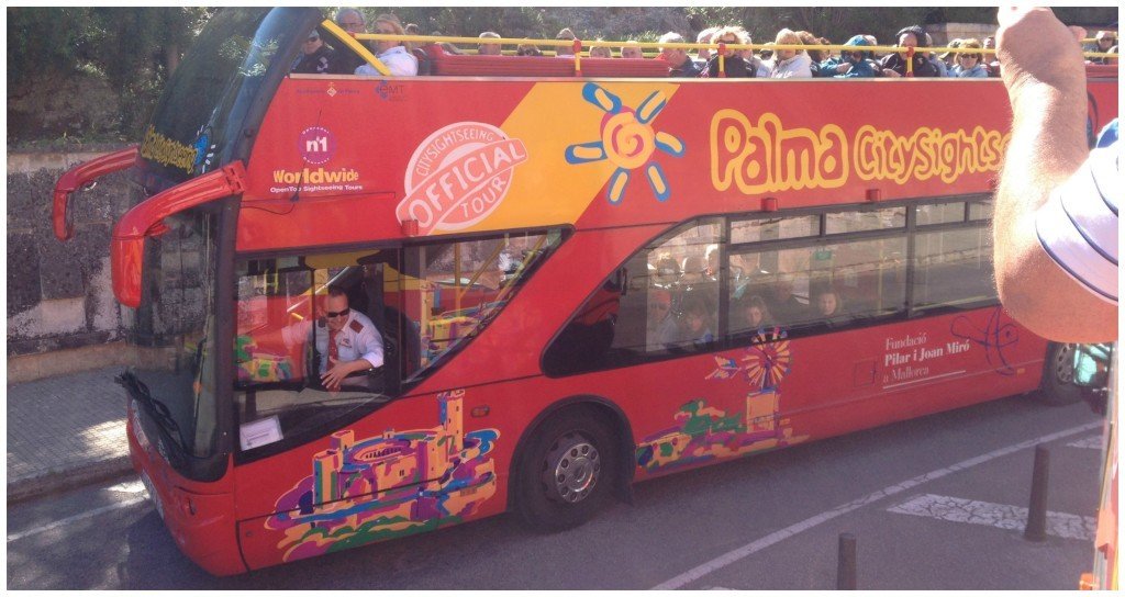 Palma City sightseeing bus 2015