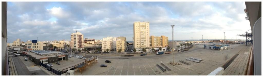 Port of Cadiz in Spain