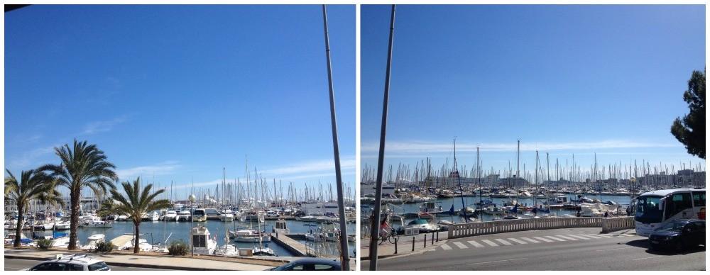 Port of Mallorca marina in Spain