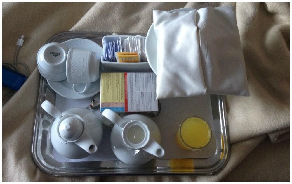 Room service breakfast MSC Magnifica 2015