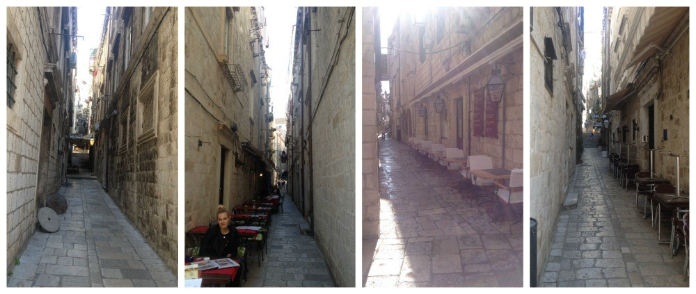 Side alleys leading off of the Placa-Stradun