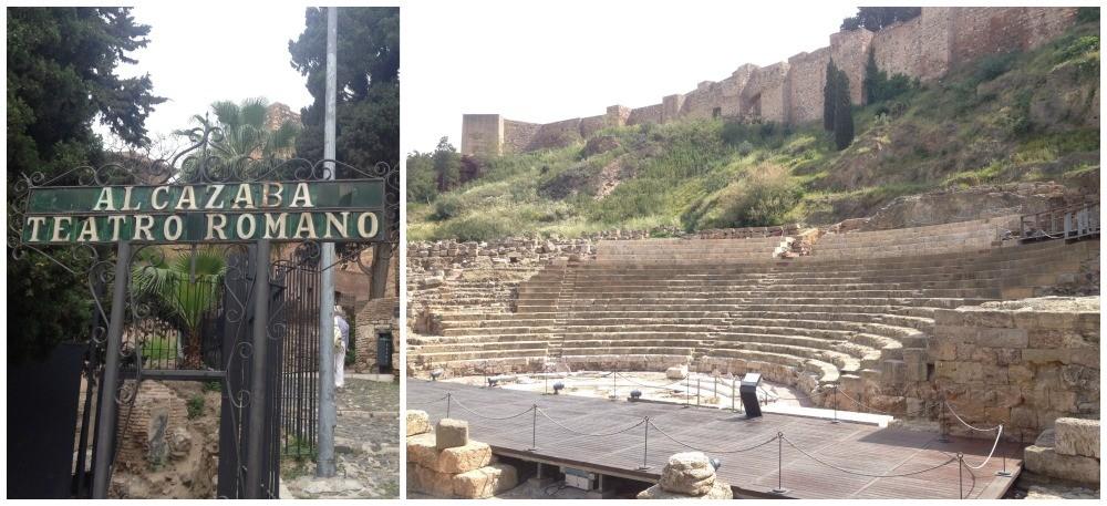 Teatro Romano - Roman Theatre in Malaga 2015