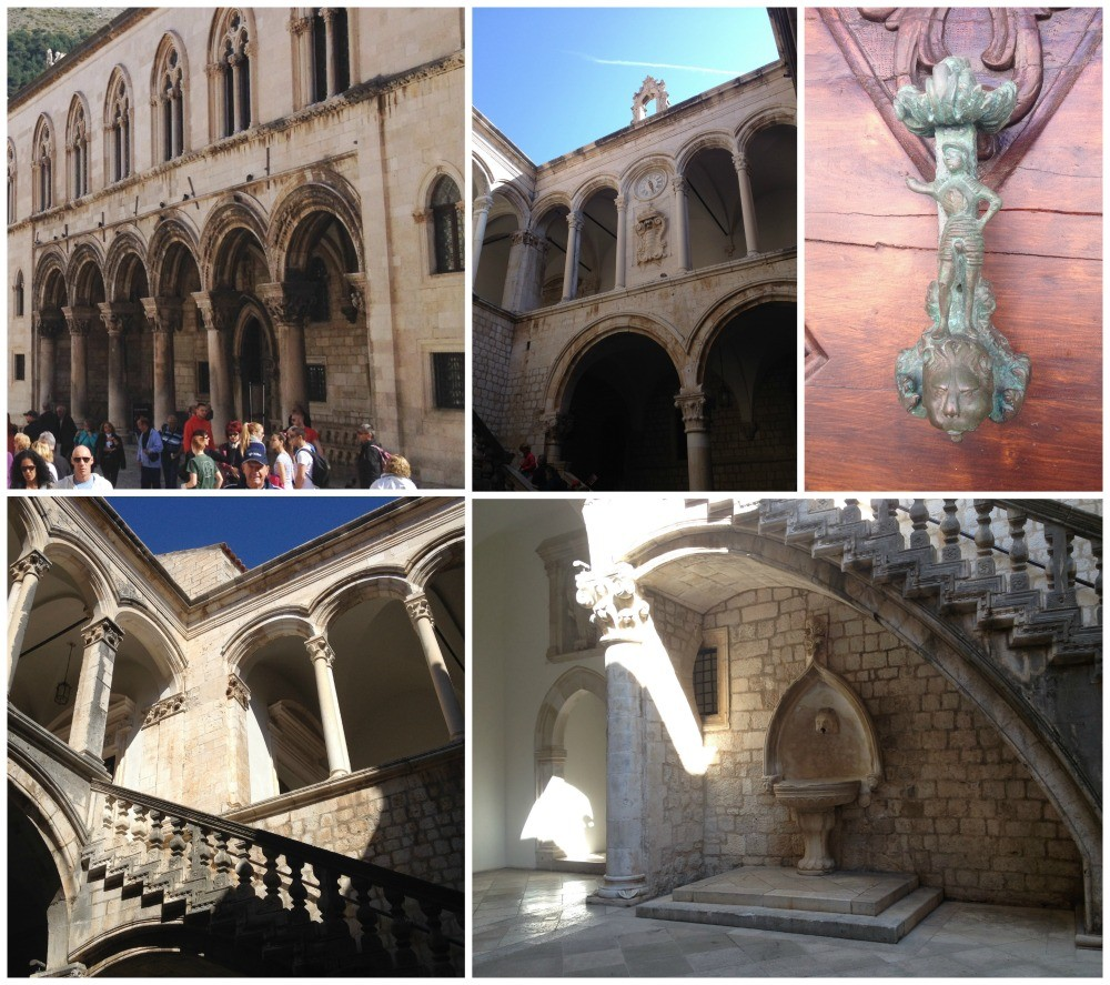 The Rectors Palace in Dubrovnik Old City 2015