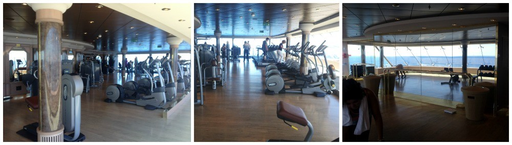 The gym on MSC Magnifica 2015