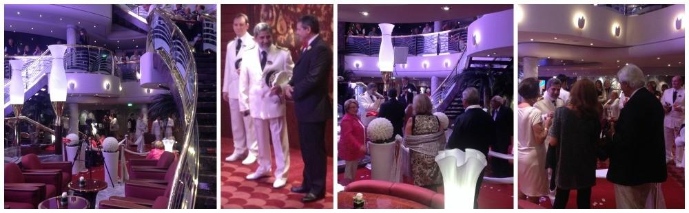 Wedding ceremony on MSC Magnifica 2015