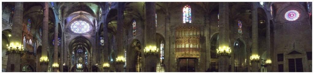 Cathedral Le Seu panorama
