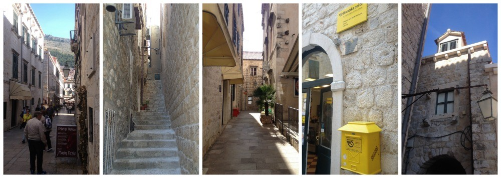 walking through the Old City of Dubrovnik 2015