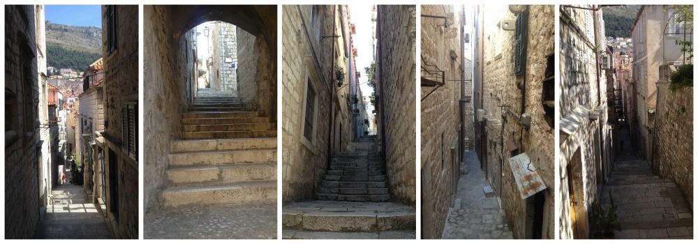 wonderful alley ways in Dubrovnik 2015