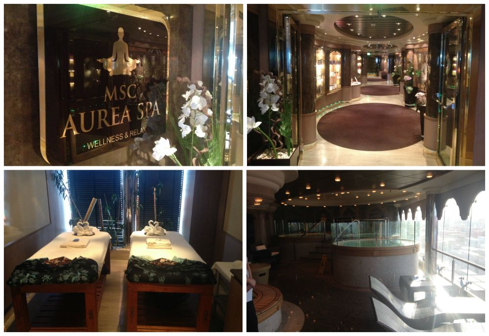 Aurea Spa on MSC Magnifica 2015