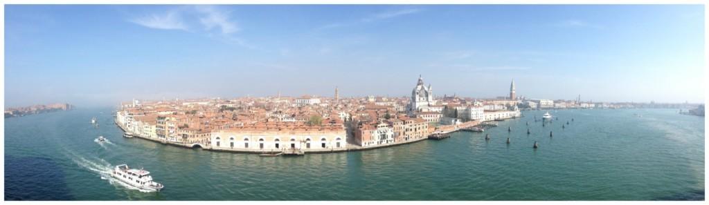 Guidecca Canal in Venice 2015