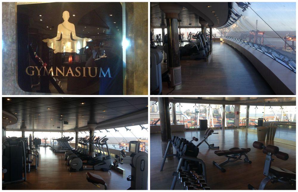 Gymnasium on MSC Magnifica 2015