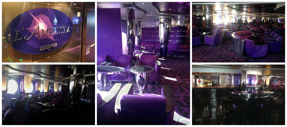 L'Ametista Lounge on MSC Magnifica 2015