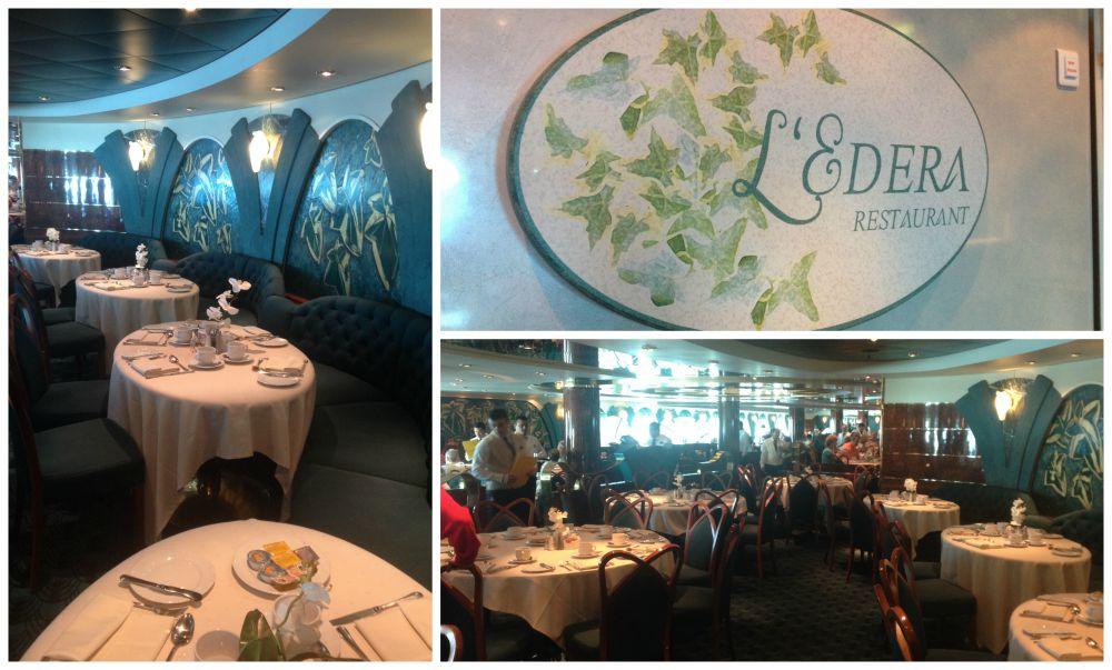 L'Edera Restaurant on MSC Magnifica 2015