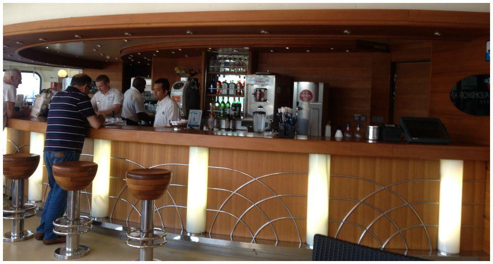 La Conchiglia Bar on MSC Magnifica 2015