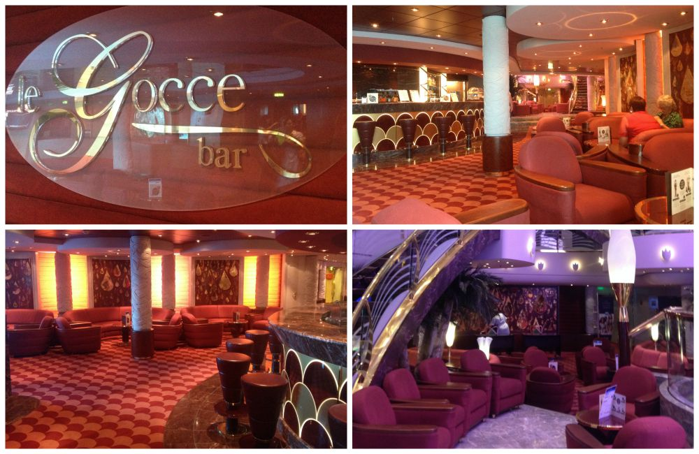 Le Gocce Bar on MSC Magnifica 2015