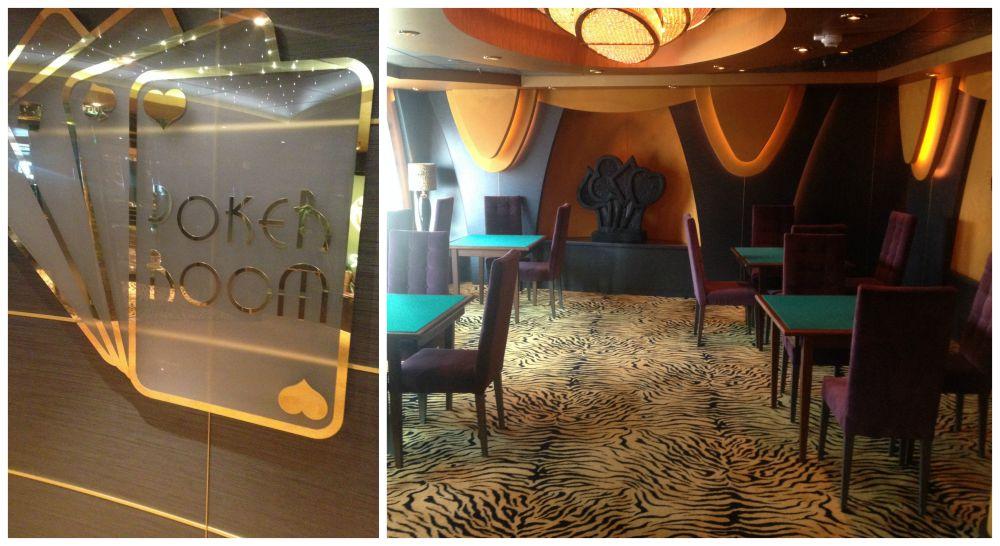 Poker Room on MSC Magnifica 2015