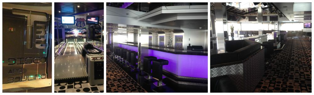 T32 Disco & Bowling on MSC Magnifica 2015
