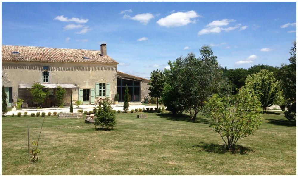 The main house in Pellegrue