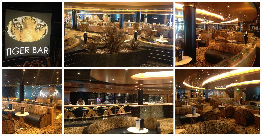 Tiger Bar on MSC Magnifica 2015