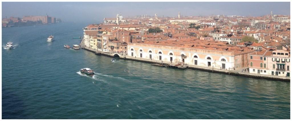 cruising into Venice 2015