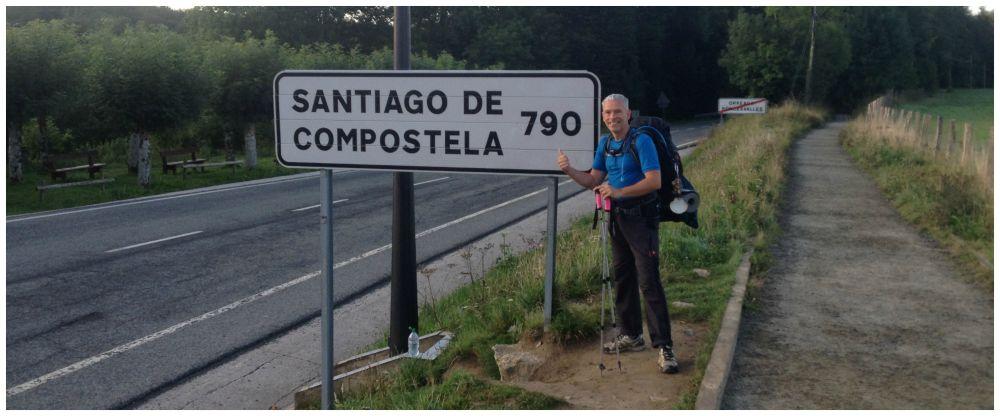 790 Kms to Santiago De Compostela