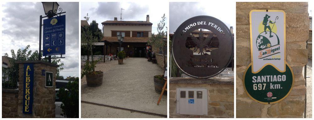 Albergue - Restaurante Camino del Perdon 2015