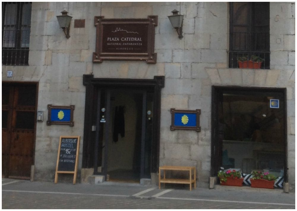 Auberge Plaza Catedral in Pamplona on the Camino