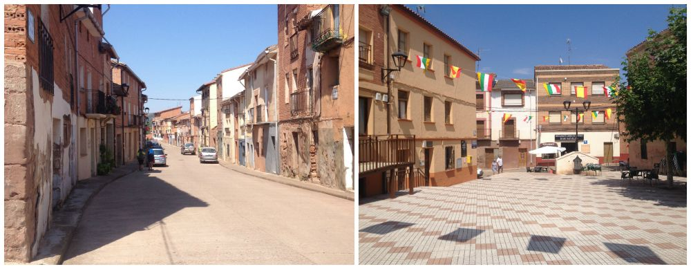 Azfora in Spain on the Camino route