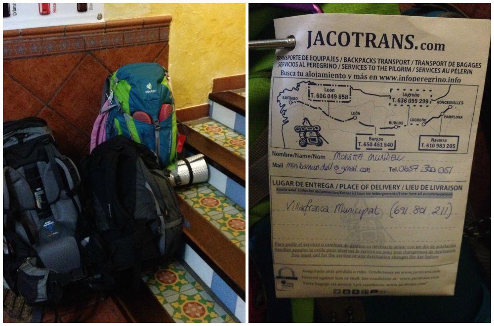 Bag forwarding with Jacotrans.com