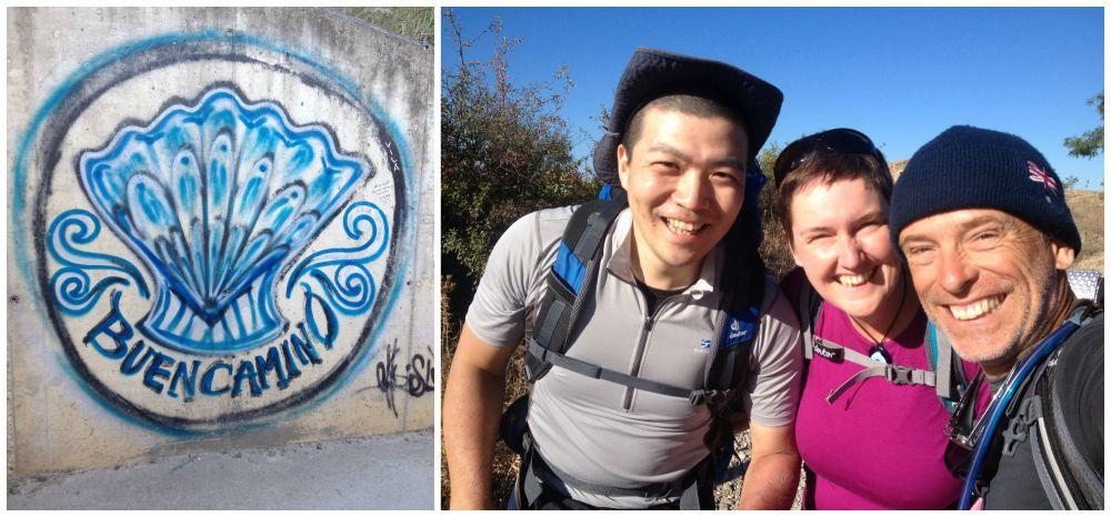 Buen Camino with Motoi from Japan
