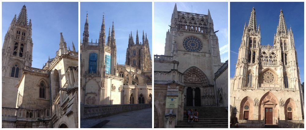 Burgos Catedral in Spain