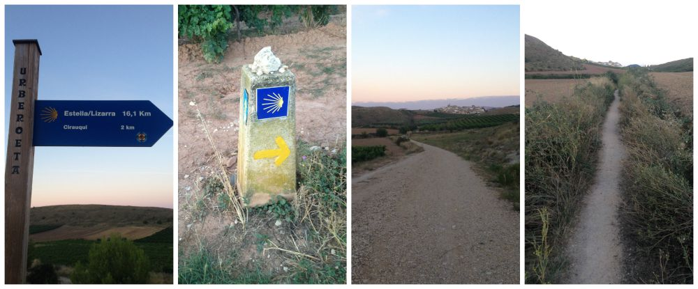 Camino images on the way 2015